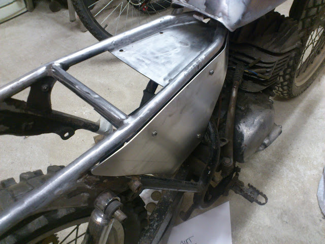 The ts250 project side panel for Naca duct template
