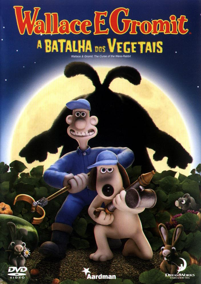Filme Wallace E Gromit A Batalha Dos Vegetais Dublado AVI DVDRip