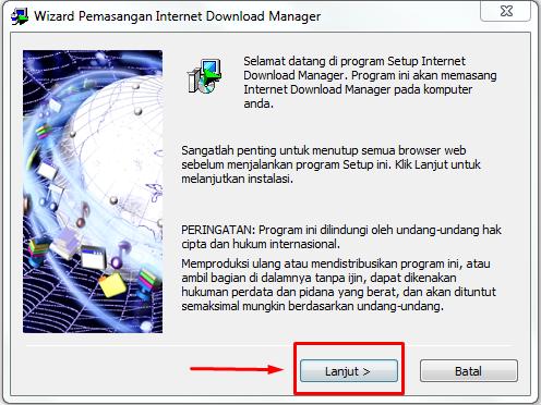 Cara Install IDM dan Aktivasinya