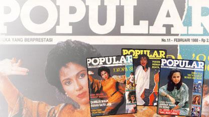 Beberapa cover Popular sebelum menjadi
