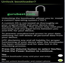 unlock htc android phone bootloader
