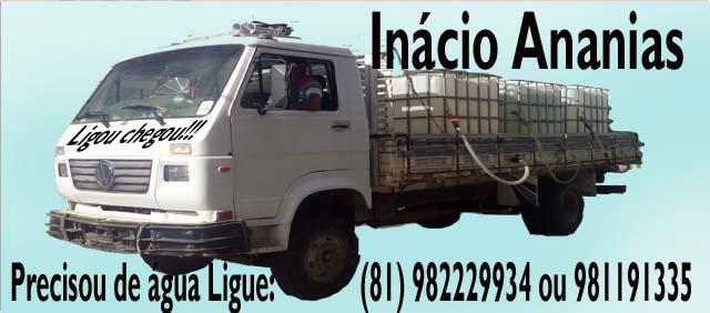 Água de qualidade é com Inácio Ananias