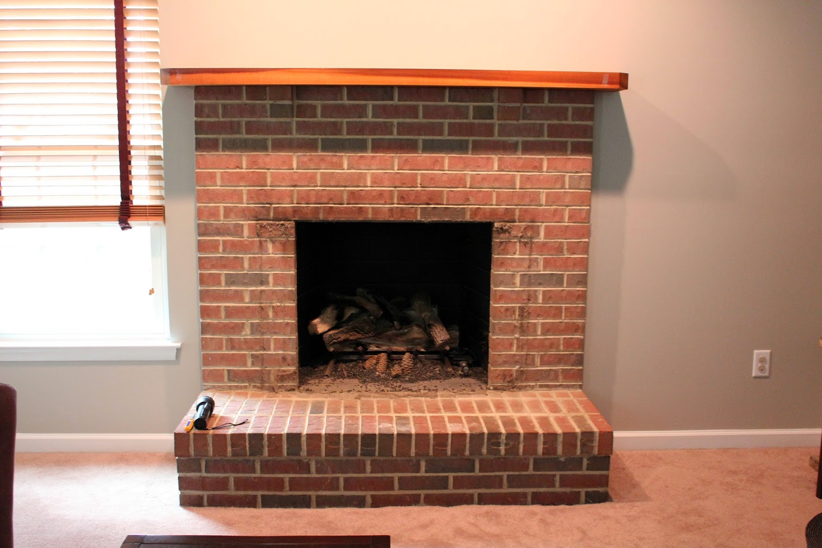 strawberry swing and other things fireplace update part 1