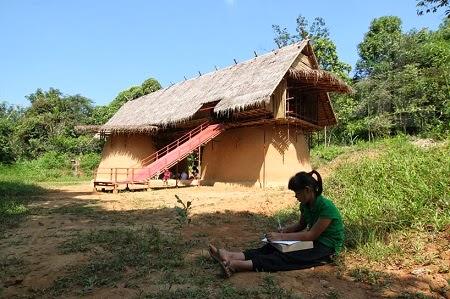 Escuela Ecoresponsable en Tailandia, Arquitectura Sostenible