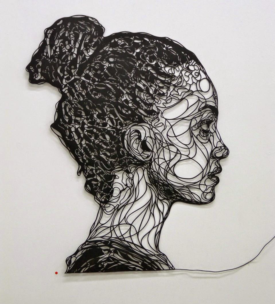 Simply Creative Portrait Stencils By Kris Trappeniers