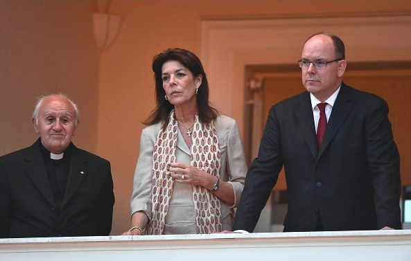 Princess Caroline And Prince Albert Attend The 'Fete De La St Jean' Procession