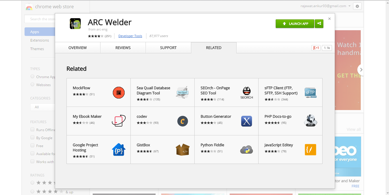 Run apk on windows : ARC Welder