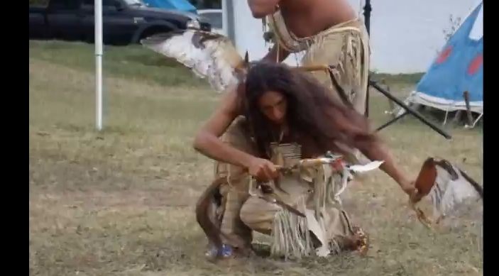 Male Traditional Lakota Dancers Perform A War Dance (VIDEO)