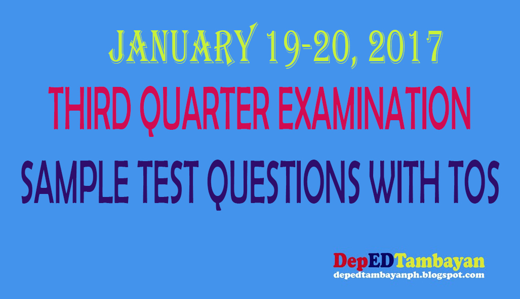 Third Quarter Examination