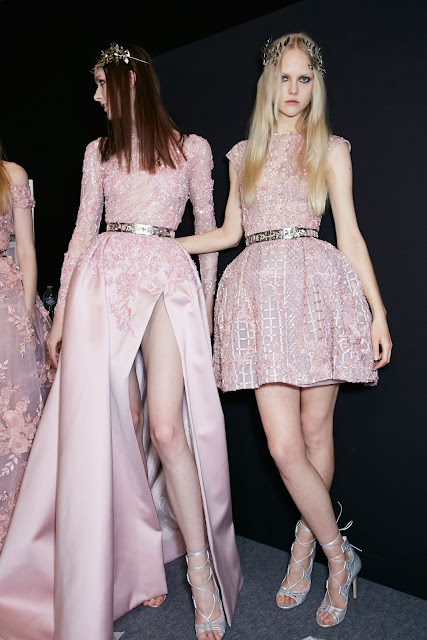 Zuhair Murad Couture Spring 2016 backstage, Paris - Cool Chic Style Fashion