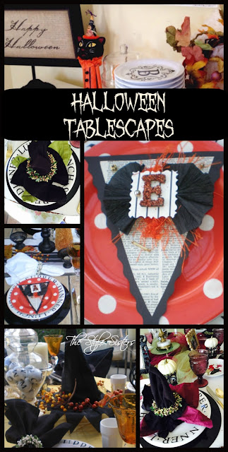 Halloween tablescapes, Witchy tablescapes, Halloween decorations