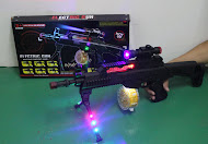 New Electric Gun with Light & Sound,RM23 only!!!
