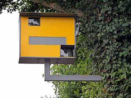 The bird house thatu0027s a fake speed camera.  sc 1 st  deceptology & D E C E P T O L O G Y: