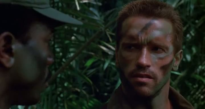 Screen Shot Of Predator (1987) Dual Audio Movie 300MB small Size PC Movie