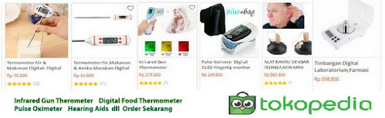 Thermometer,Timbangan Digital dan alatUkur digital