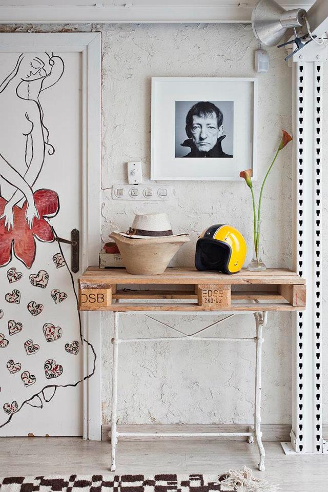Interior un estudio en blanco vintage decoraci n for Muebles de cocina manolo