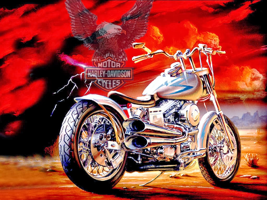 Harley davidson costom bike wallpapers free hd desktop wallpapers harley davidson costom bike wallpapers voltagebd Images