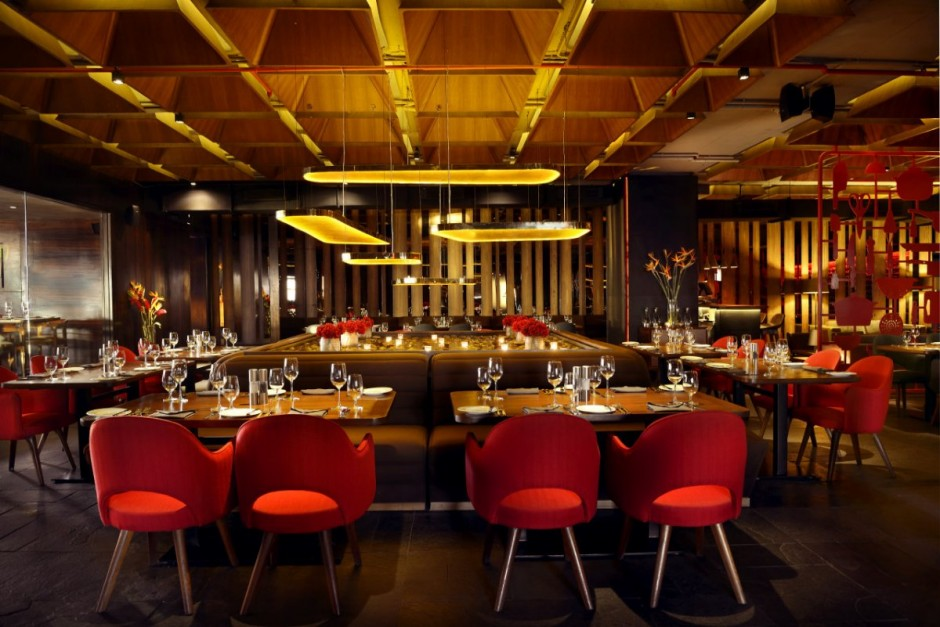 Loveisspeed khosla associates together with tsk for Indian restaurant interior design ideas