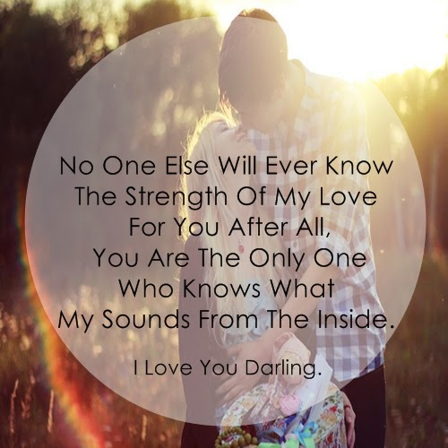 I Love You Darling Quotes For Her