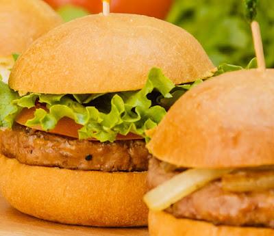 Resep Burger Mini Kotak Isi Daging Panggang Sederhana