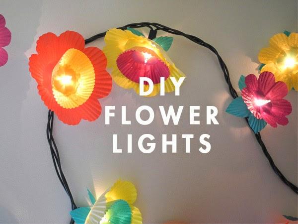 Lampu hias LED di kamar tidur anak