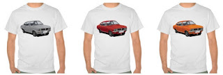 Vauxhall, firenza, t-shirst, t-paidat, t-tröjör