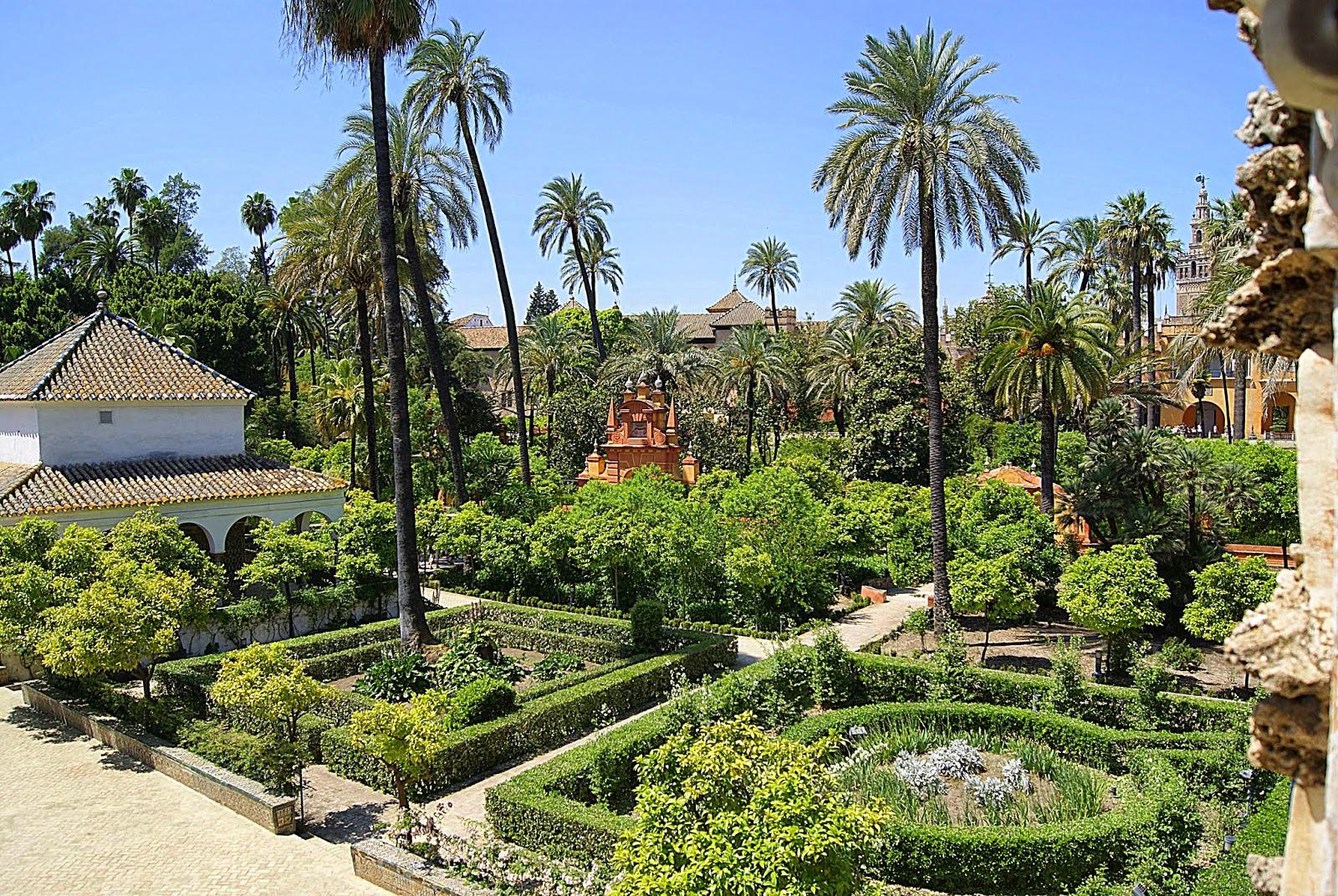 Leyendas de sevilla reales alc zares de sevilla x la for Los jardines de la cartuja