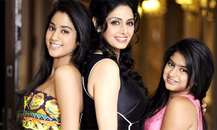 Sridevi Family Photos
