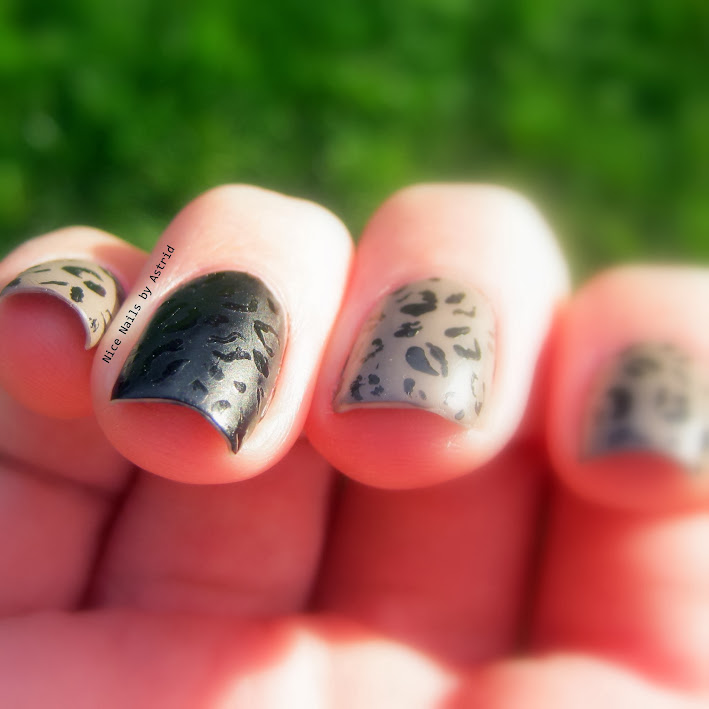 Leopard print, Leopart Nail art, Isadora Little sparrow, Nice nails by Astrid