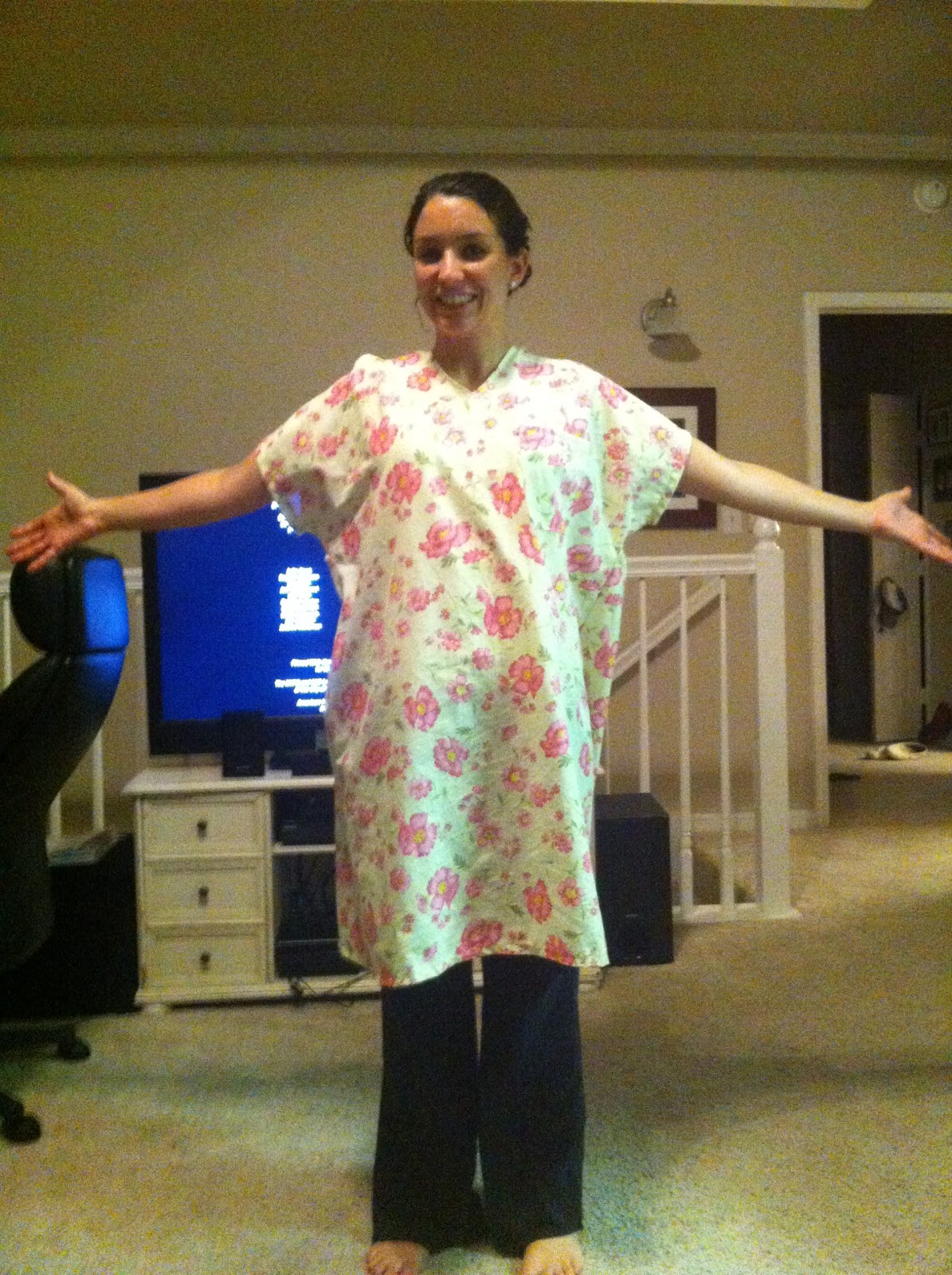 The Hazelbakery: Maternity Hospital Gown