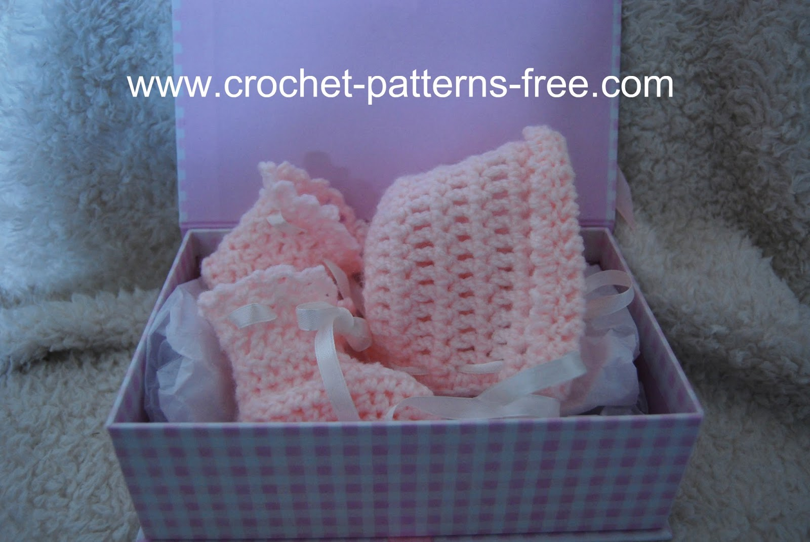 Beginner Crochet Baby Booties Pattern Free : Free Crochet Pattern Booties Patterns Gallery