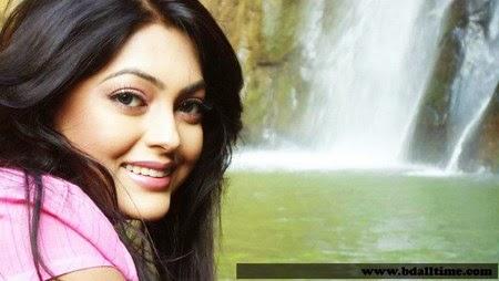 Bangladeshi actress Nipun akter