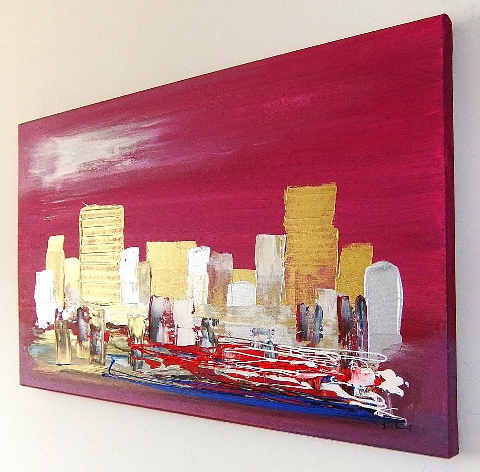 Quadri moderni astratti dipinti sanader art pittura for Quadri astratti on line