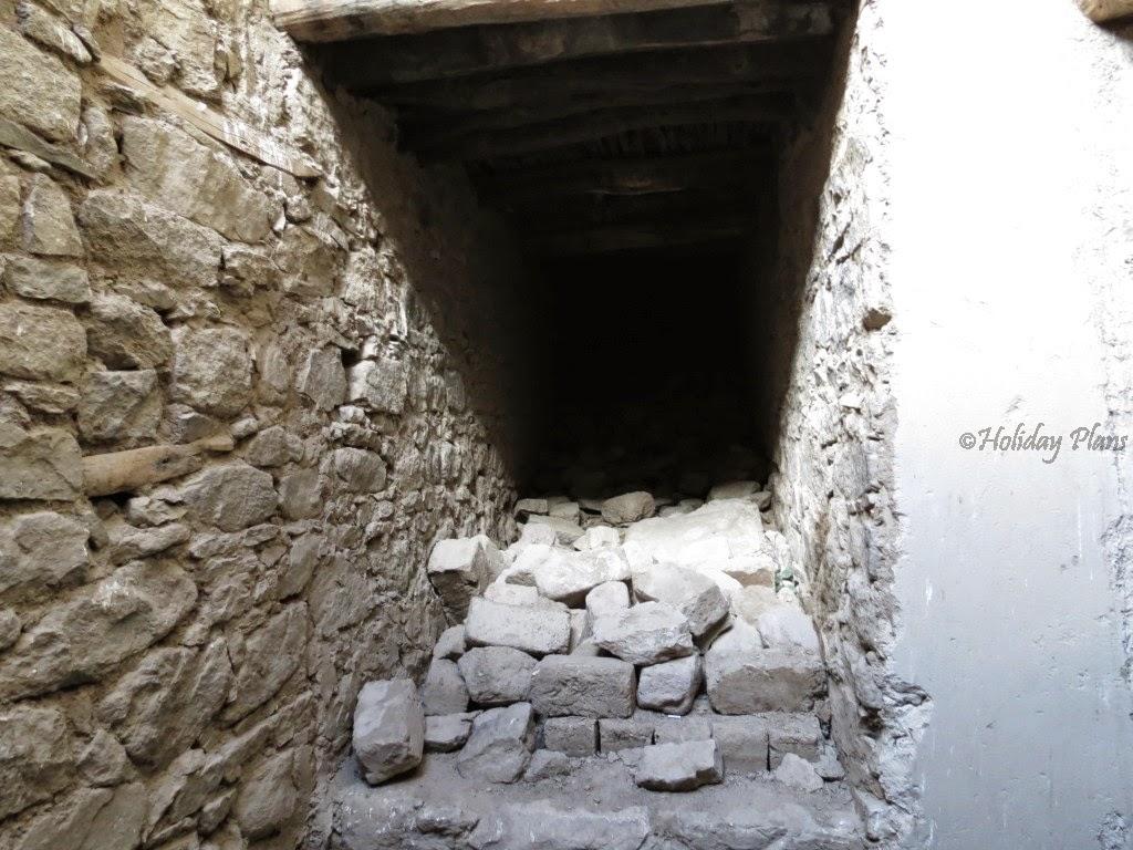 Maze of dark corridors