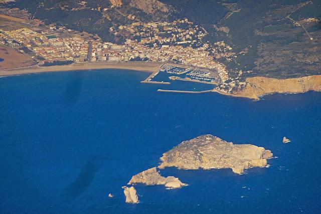 Vista aèrea de les Illes Medes