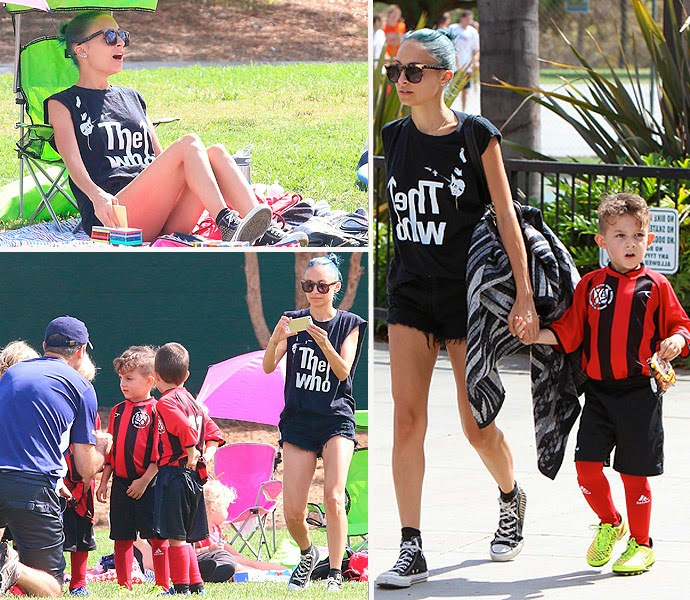 To young money zone celebrity soccer mom nicole richie soccer mom