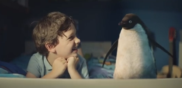 Anúncio de Natal torna-se viral na Internet (video)
