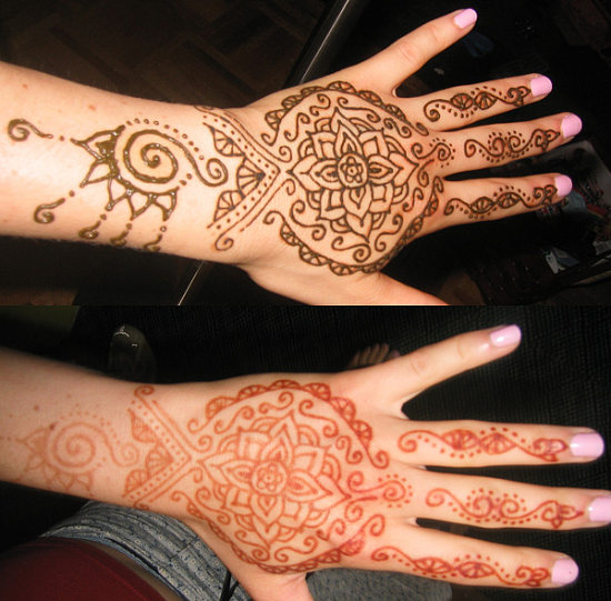 why are henna tattoos not permanent