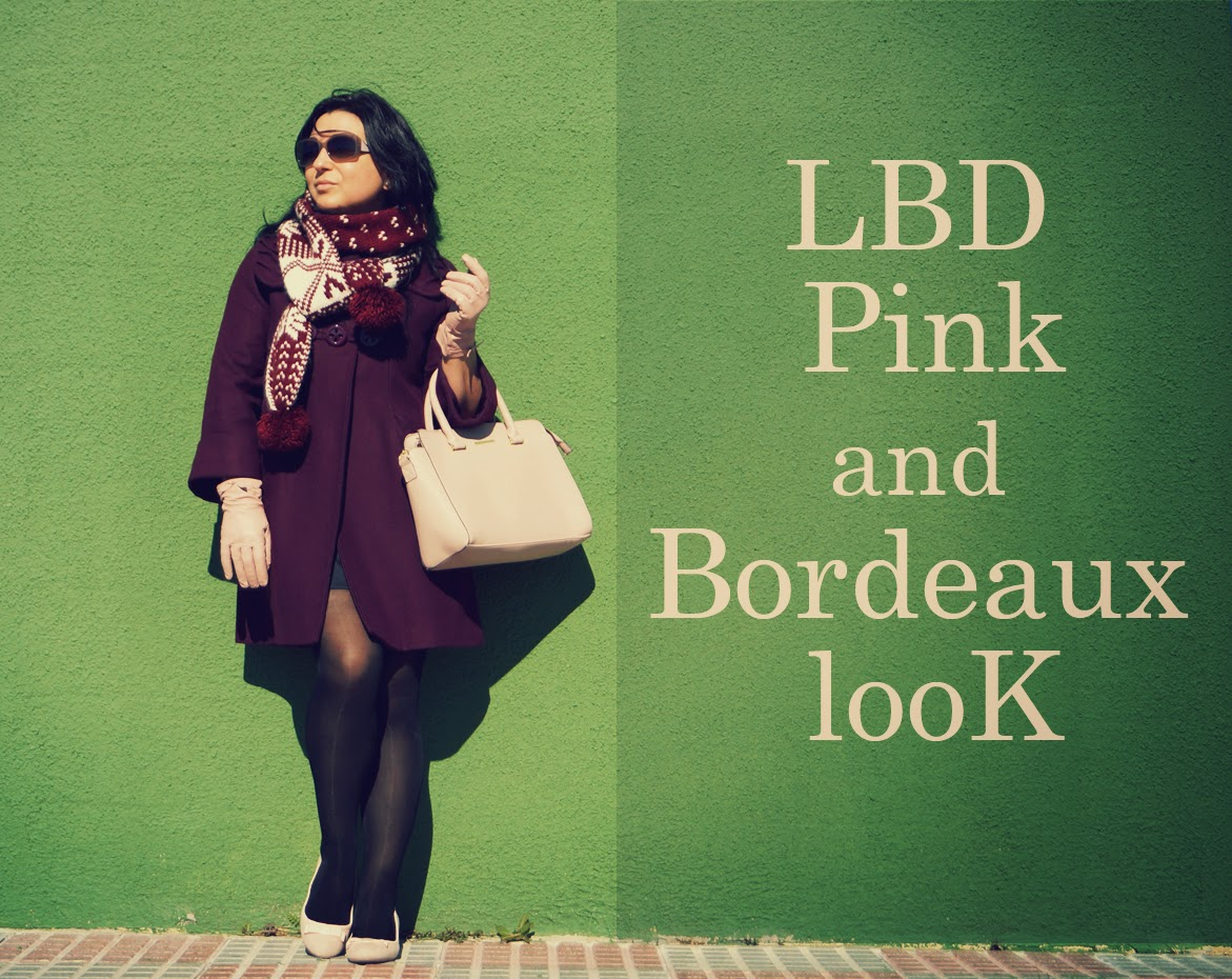 lbd-pink-and-bordeaux-look