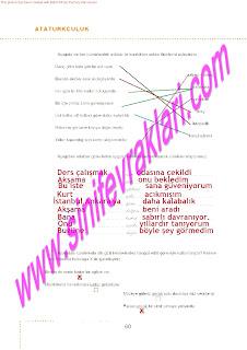 6.Sinif  Turkce Doku Yayinlari Ogrenci Calisma Kitabi Sayfa 60