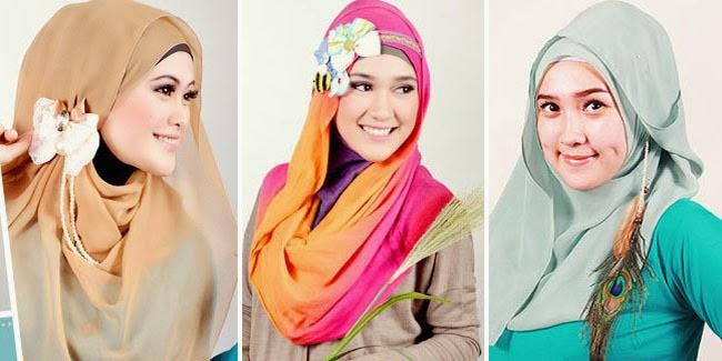 warna jilbab netral