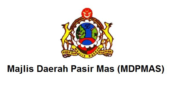 Jawatan Kerja Kosong Majlis Daerah Pasir Mas (MDPMAS) logo www.ohjob.info mac 2015