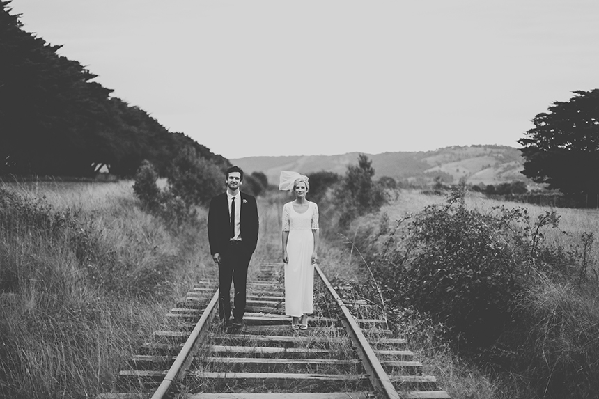 train trak winery wedding