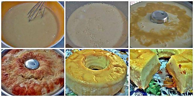Preparación del flancocho de queso