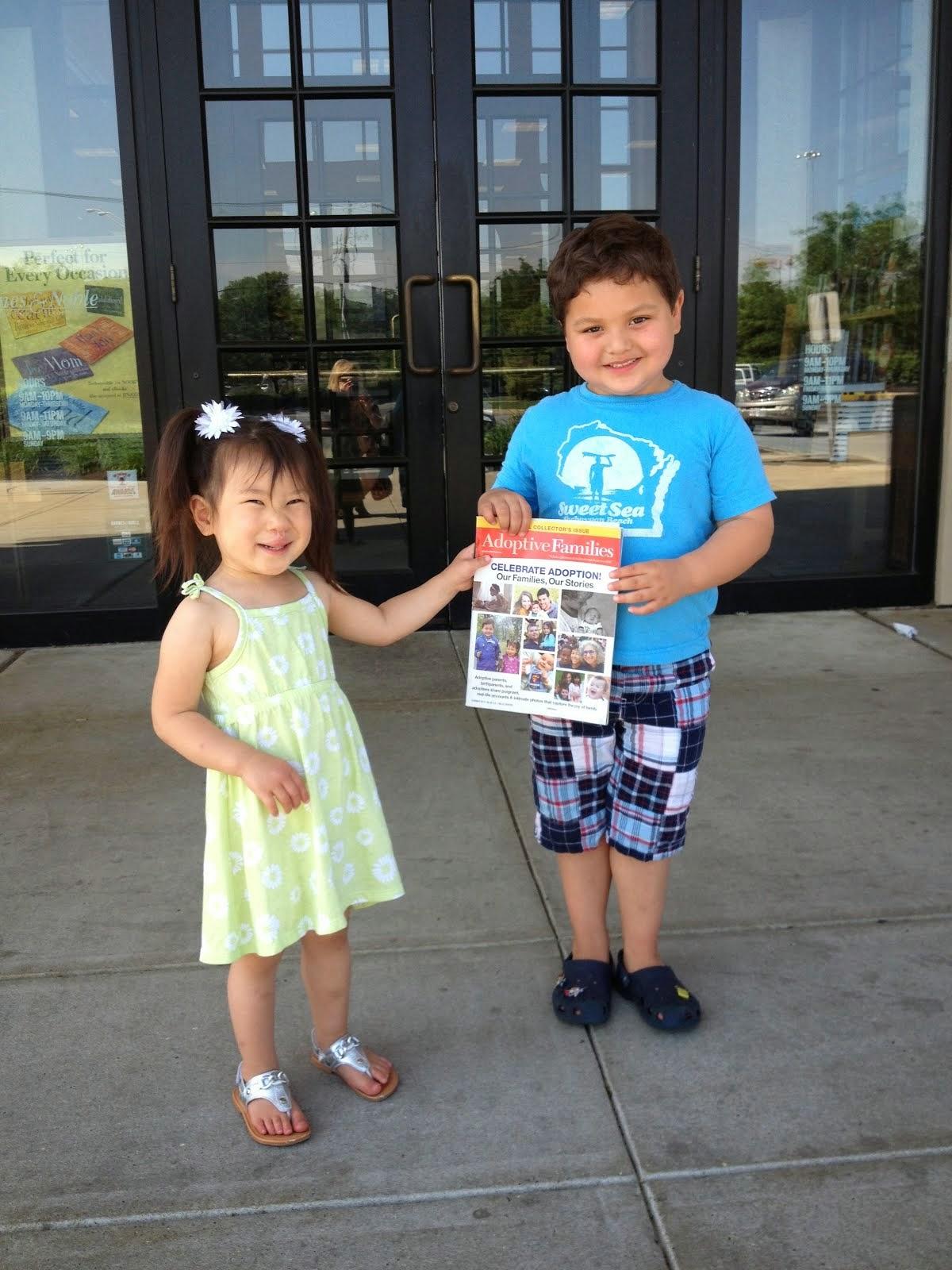 Adoptive Families Magazine Story