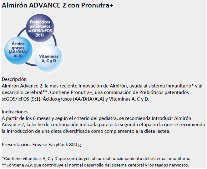 Almirón Advance 2