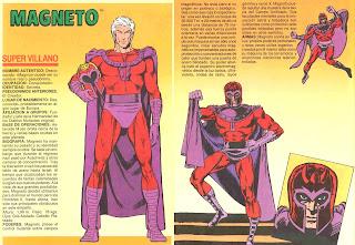 Magneto Marvel Supervillanos