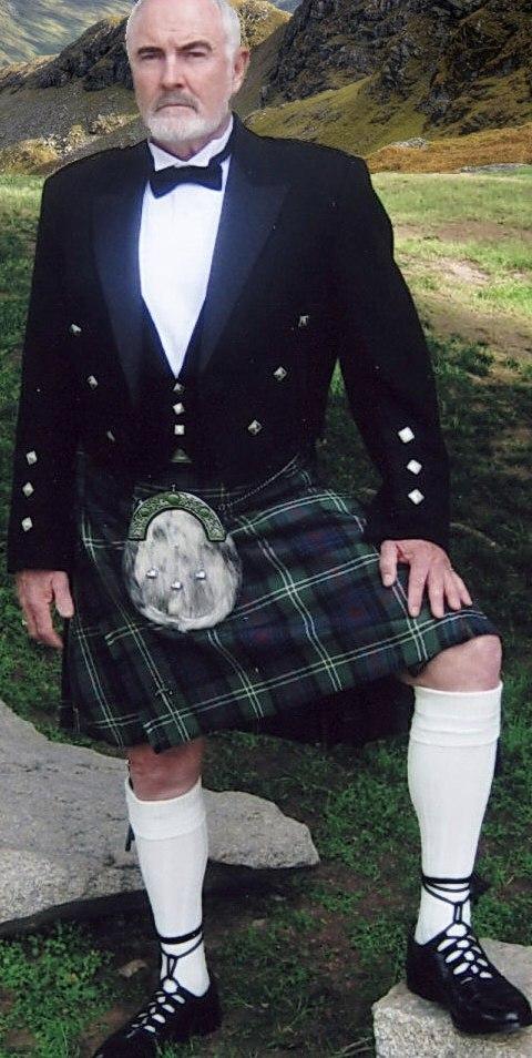 Scottish Kilt Sean Connery