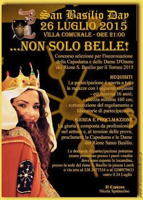 san bASILIO DAY ...NON SOLO BELLE!