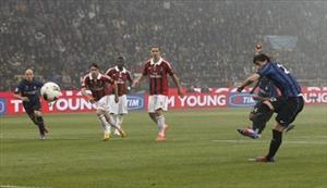 أهداف مباراة انتر ميلان وميلان 4-2 بتعليق علي سعيد الكعبي 6-5-2012